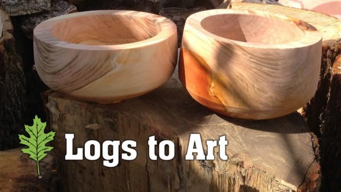 Logs to Art