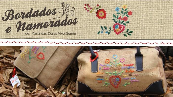 Bordados e Namorados - Artesanato e bordados de Maria das Dores Vivo Gomes