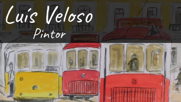 Luís Veloso Pintor - Pinturas em Aguarelas, Acrílico e Óleo